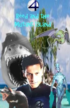 Reed and the Mutant Island coverart by TheIkranRider77