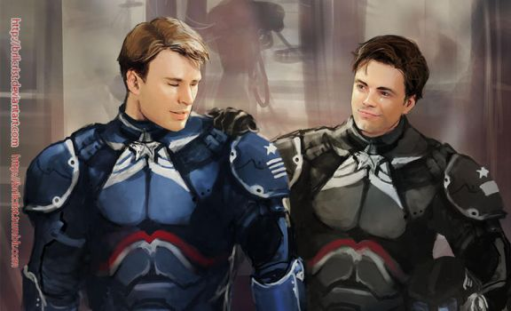 Marvel x pacific rim: Steve Rogers03 by Brilcrist
