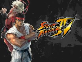 Street Fighter IV Wallpaper by lunadivervii