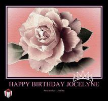 Happy Birthday Jocelyne by seekingmysoul