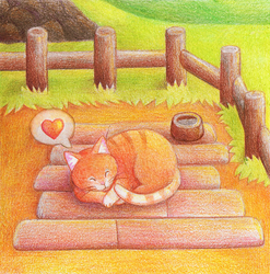 Stardew Valley cat :3 by yeyeyy