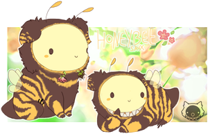 Saux9_Honeybee Adopt [Closed] by SarcastiCakes