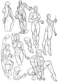 Sketchbook Anatomy Collection by Bambs79