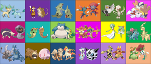 Contestants for Total Pokemon The Ridonculous Race