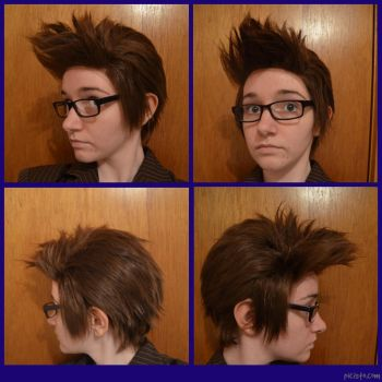10th Doctor Wig by TheSuperMoMo