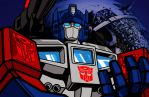 Transformers Powermaster Optimus Prime God Ginrai by ragingnin77
