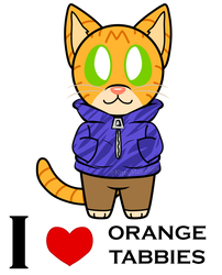 Orange Tabby Lover[pagedoll] by KittyMelodies