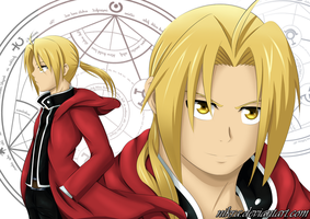 Edward Elric by nikra
