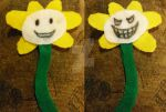 Double-Sided Flowey Feltcraft thing by HotR-Official