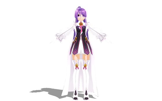 [MMD-Elsword] Aisha Aether Sage WIP by Darknessmagician