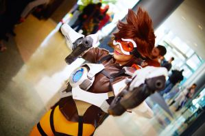Tracer from Overwatch MTAC/MTCC 2016 #02 by Lightning--Baron
