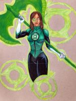 Jessica Cruz - Green Lantern Sector 2814 by SacaradiTuenifore