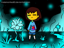 Undertale - Waterfall by IceLemonTea83