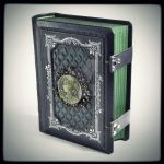 The Celtic Secrets leather journal (6.5 x 5.2 in)