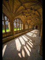 Lacock Abbey by GMCPhotographics