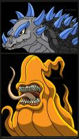 Anguirus With Cheese Whiz by Enshohma