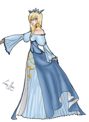 Princess Namine by LadyMako by digipinky75910