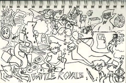 Battle Royale by Sei-sama