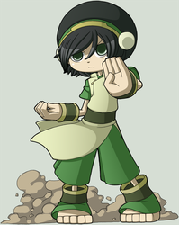 Toph for Rhea2 by CubeWatermelon