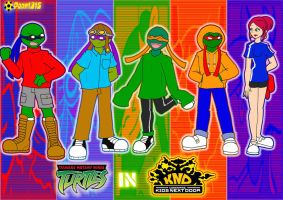 TMNT in KND by RoseMary1315