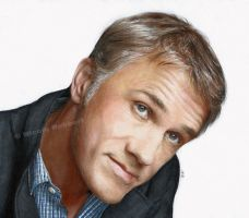 Christoph Waltz (drawing) by Quelchii