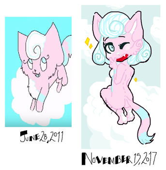 Cloud redraw by GwenCupcakes