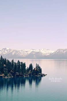 afternoon at Lake Tahoe by claudia-alexandra