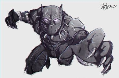 Black Panther by Tabbes