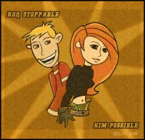 ::trade:: Kim and Ron :: by freckledmystery