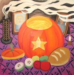 Harvest Altar by TanzenLilly