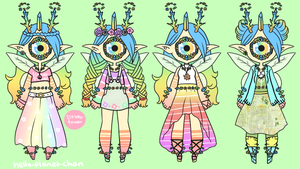 Outfit Set - Raelyn by hello-planet-chan