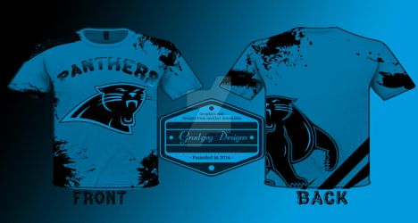super popular f6d89 0ac5c North Carolina Panthers T Shirt Design by grudgeyshirts on ...