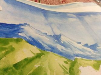 simply made mountains . by Paulami9564