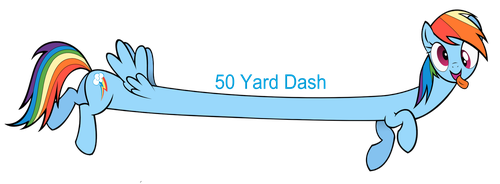 50 Yard Dash by DatBrass