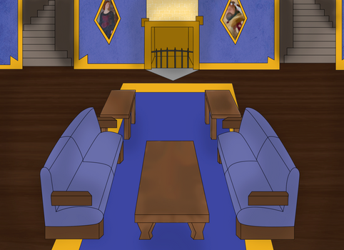 HSR- Ravenclaw Common rooms stock by Maki121