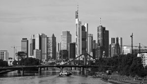 Frankfurt Skyline ( new edit ) by UdoChristmann