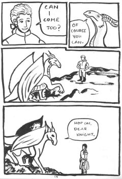 24h Comic 2014: A Dragon's Tale p.17 by SaxonVoter