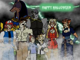 ThunderCats Halloween by Gojihunter31
