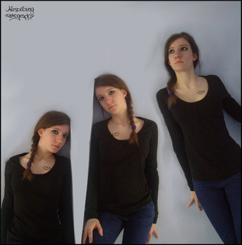 Triple me. by Absorbing-Fotography