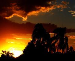 Effect of the sunset by CorporalNobbs