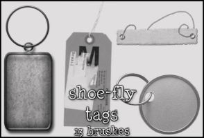 Tags brush set by shoe-fly
