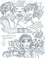 Xenoblade Chronicles sketch 5 by LadyJuxtaposition