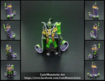 DOTA 2 Rubick Figurine - 360 Degree View by LuisMonterieArt