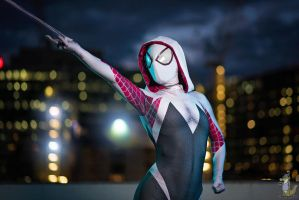 The Amazing Spider-Gwen by biancabellalove