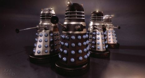 'The Dalek Invasion of Earth' different ranks by AntLamb
