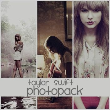 Taylor Swift Photopack {Red Photoshoot} by ISheeran