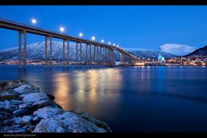 Home Town By Night by berg77