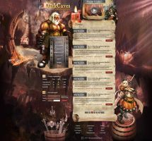 LineAge2 site ''DarkCaves'' by DattaDesign