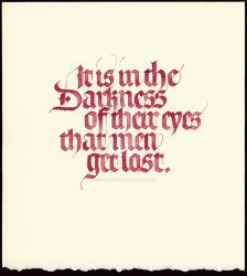 It is in the Darkness ... by isolationism