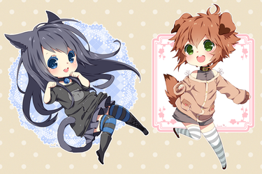 Chibi commission batch 29 by inma